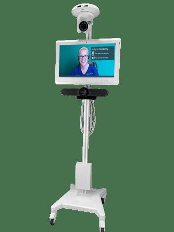 MedSitter_Night Vision Cart_Patient Sitter on Screen